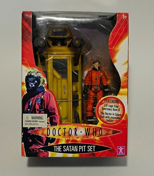 Doctor Who Action Figure The Satan Pit Set The 10th Doctor amp; Lift Cage