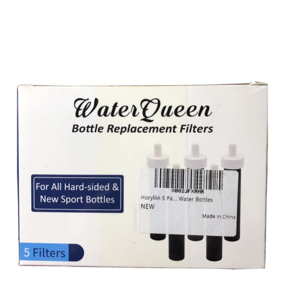 Water Queen Bottle Replacement Filters For Brita hard sided amp; new sport Bottles