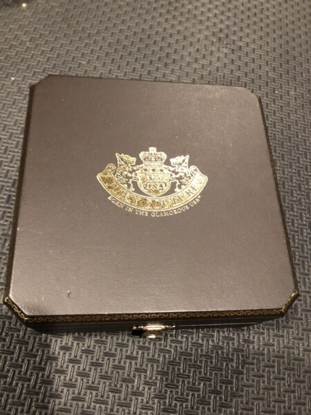 Juicy Couture Jewelry Necklace Bracelet Large Box Brown Gold Pink RARE