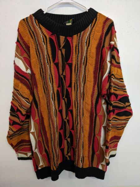 mens coogi sweater large $124.99