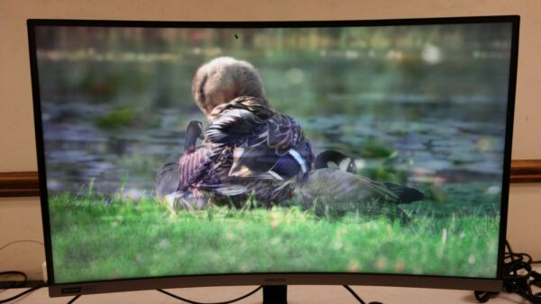 Samsung C27RG50FQN 27quot; Full HD Curved Screen LCD Monitor AR184
