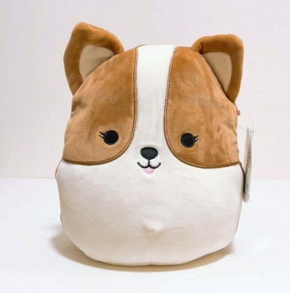 Kellytoy Squishmallows 2021 Regina the Corgi Dog Puppy 8quot; Plush Doll Toy $19.99