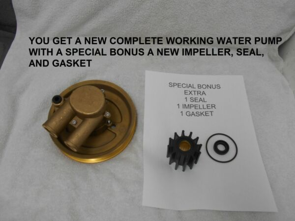 AFTERMARKET For Volvo Penta 3812519 21212799 Raw Water Pump WITH EXTRAS $149.95
