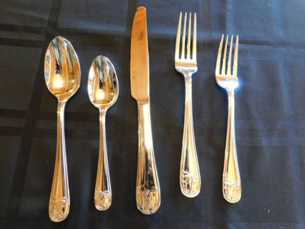Mikasa Love Story Stainless 5 Piece Place Setting