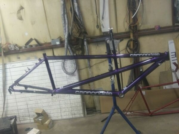 90#x27;s Cannondale Mountain Tandem Frame 18quot; 16quot; Bicycle Aluminum Made in USA $300.00