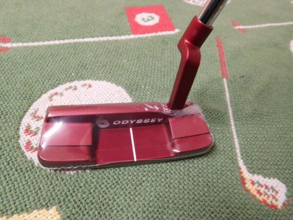 New Left Handed Odyssey O Works #1 Tank Counter Balance Putter 38quot; Super Stroke $189.00