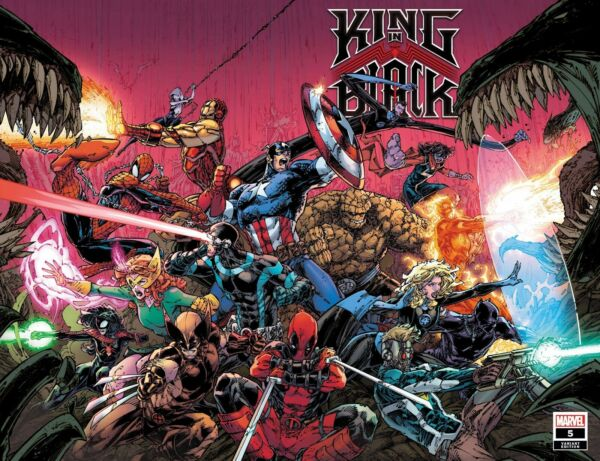 King In Black #4 5 You Pick From Main amp; Variant Covers Marvel Comics 2021