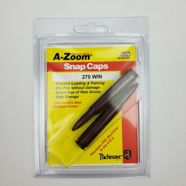 Lyman A Zoom .270 WIN Aluminum Snap Caps New In Box $14.95