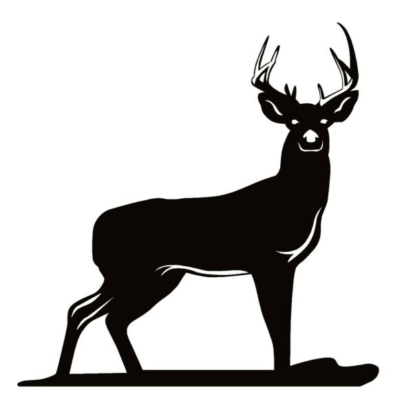Whitetail Deer Buck Hunting Decal – Whitetail Deer Buck Hunting Sticker – 7102