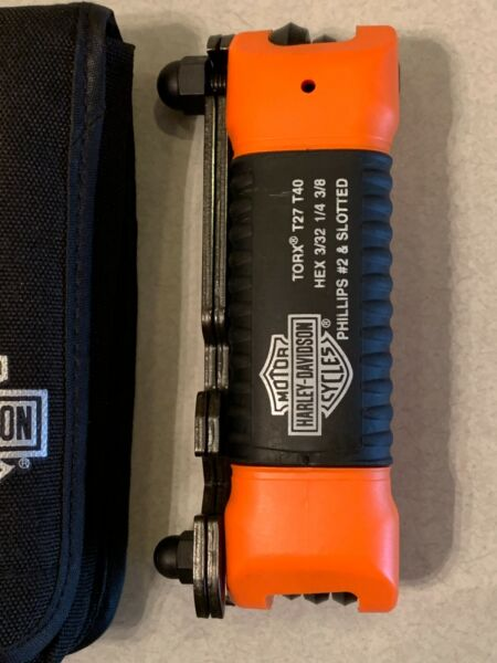 HARLEY DAVIDSON ALL IN ONE FOLDING TOOL KIT BRAND NEW OEM 94435 10 $29.95