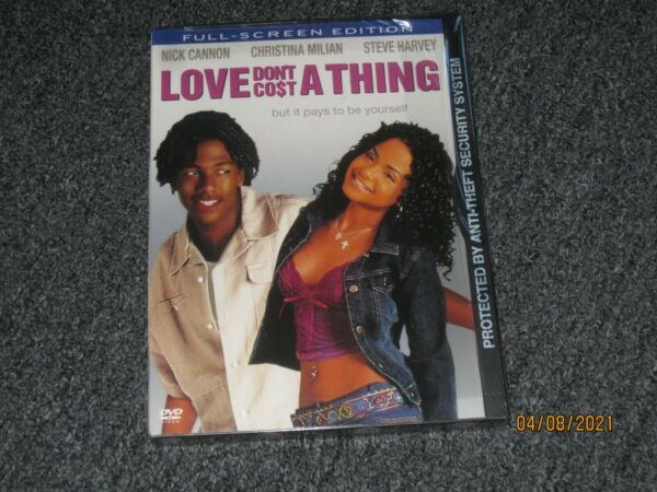Love Dont Cost a Thing DVD 2004 Full Screen Nick Cannon Christina Milian NEW $12.97