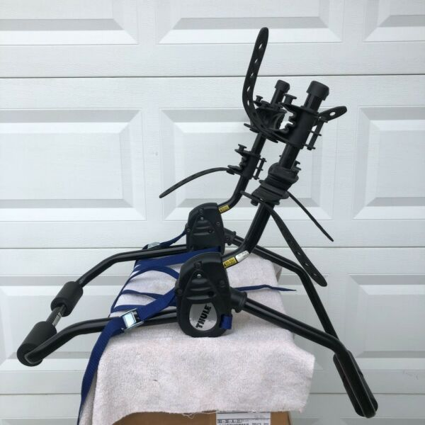 THULE 910XT 2 Bike Rack Bike Carrier USED Trunk Mount Nice Condition $89.95