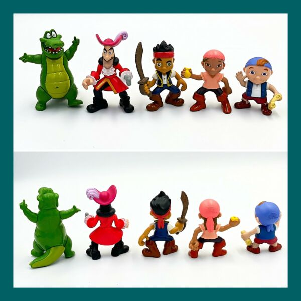 Jake and the Neverland Pirates Figures 3