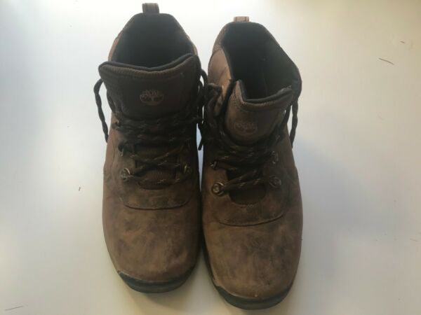 Timberland Boys Hiking Boots size 3 Waterproof brown $26.00