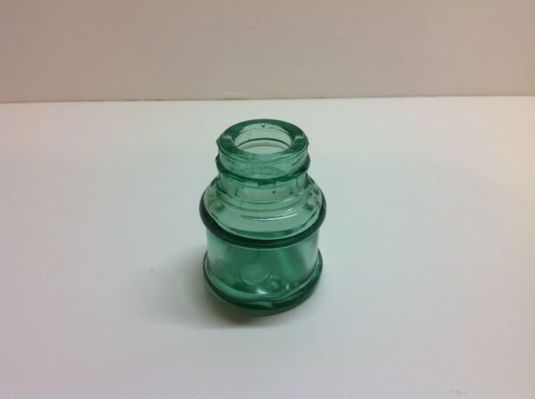 Small Antique Barrel Type Inkwell.