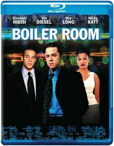Boiler Room Blu ray Disc 2014 NEW $5.99