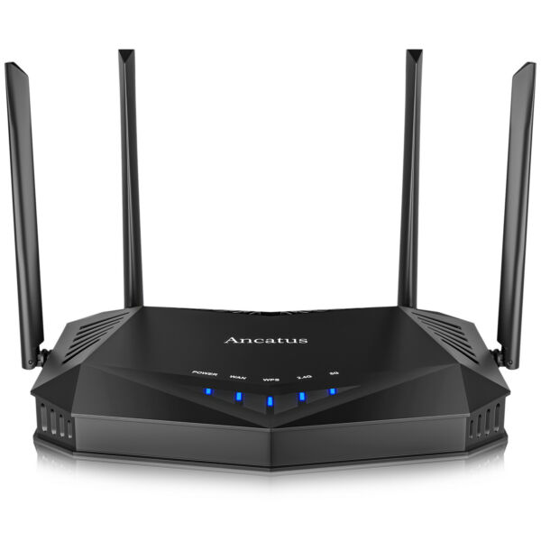 Ancatus WiFi 6 Router AX1800 Dual Band 1.8G WiFi Router Gigabit Computer Router