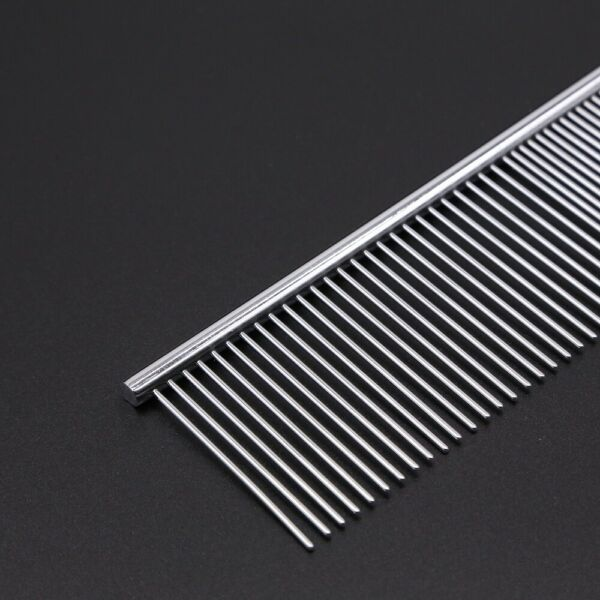 Metal Dog Comb Steel Professional Grooming Tool for for Removing Knots Tangles $5.99