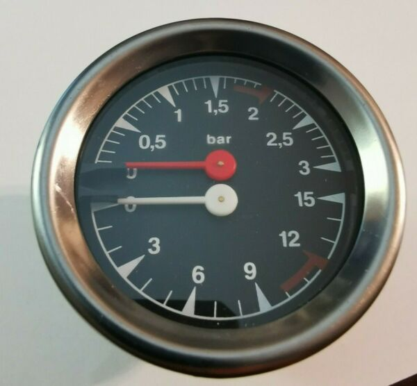 MARZOCCO Double Scale Boiler Pump Pressure Gauge 60mm $69.95