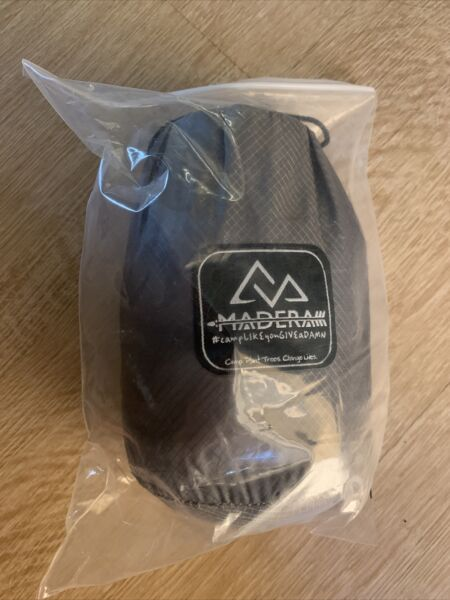 Madeira Ultralight Hammock Travel Camping Outdoor Backpacking NIB grey $25.00