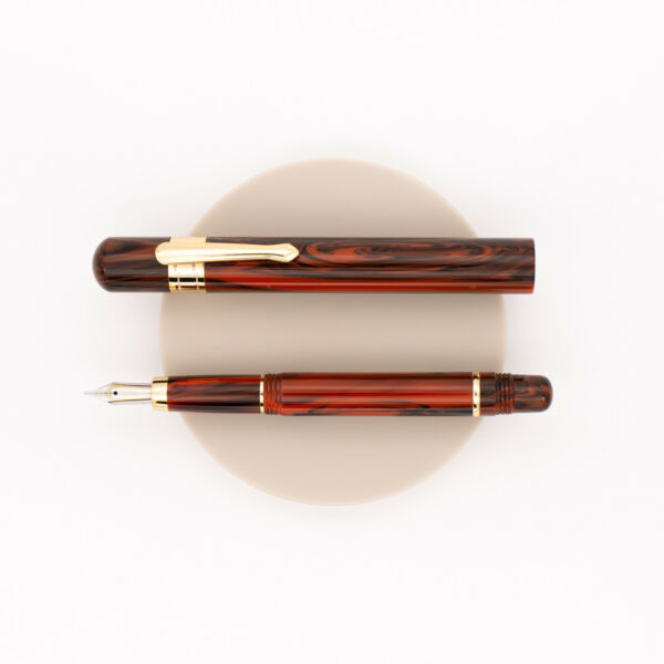 Taccia Covenant Pen Fountain Pen Persimmon Winds
