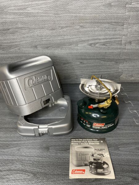 1993 Coleman Stove 508a nos Never Fueled Or Fired