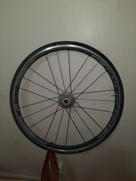 Fulcrum Racing Rear Wheel 622x15c 700c aluminum alloy with sprocket $200.00