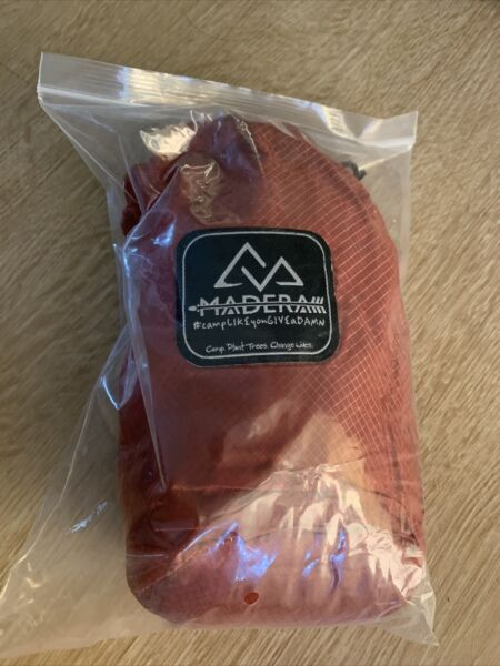 Madeira Ultralight Hammock Travel Camping Outdoor Backpacking NIB Orange $25.00
