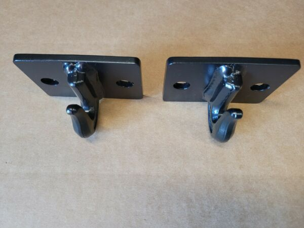 5 16quot; Bolt On Grab Hooks For Loader Tractor Bucket Heavy Duty Steel Pack Of 2 $25.00