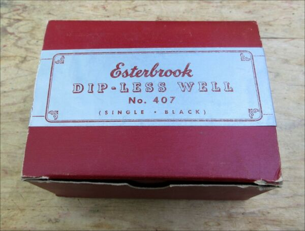 NEW in BOX Esterbrook #407 Inkwell