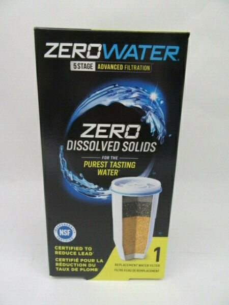 Zero Water ZR 001 ION Replacement Water Filter 5 Stage #2 ZRG3 001 01 NEW SS $17.59