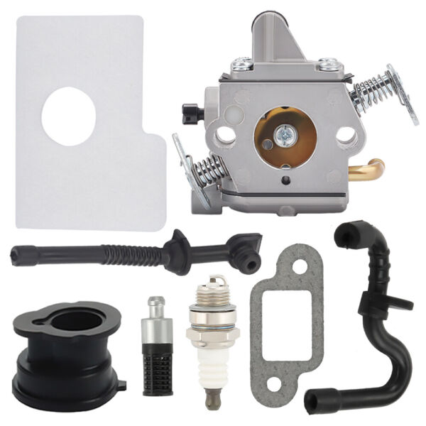 1130 120 0603 For Stihl Carburetor MS170 MS180 017 018 Chainsaw W Tune Up Kit $10.95