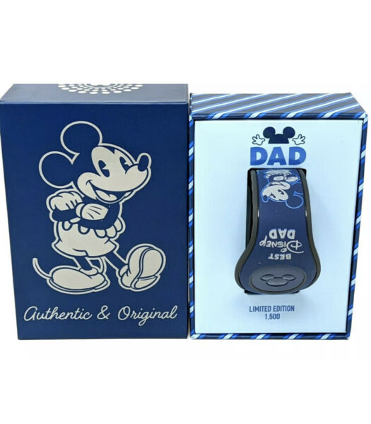 Disney Parks BEST DISNEY DAD Father#x27;s Day 2021 Magic Band Limited Edition LE1500 $46.90