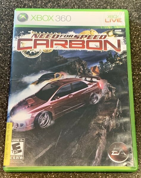Need for Speed: Carbon for XBOX 360 COMPLETE amp; FULLY TESTED $18.95