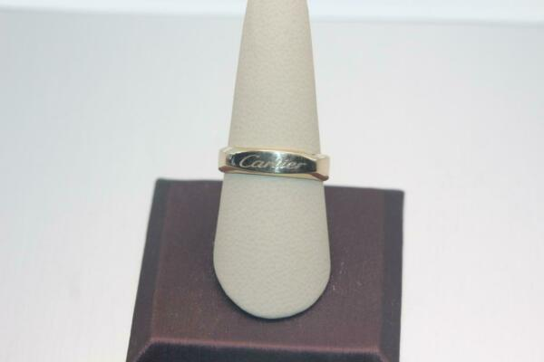 Fine 14K Yellow Gold Square Design Band Ring Size 9.75 4.6 grams $325.00