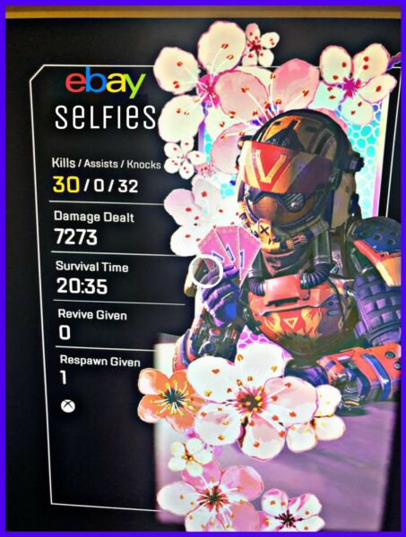 Apex Legends 20 Kill and 4K Badge XBOX PlayStation $25.00
