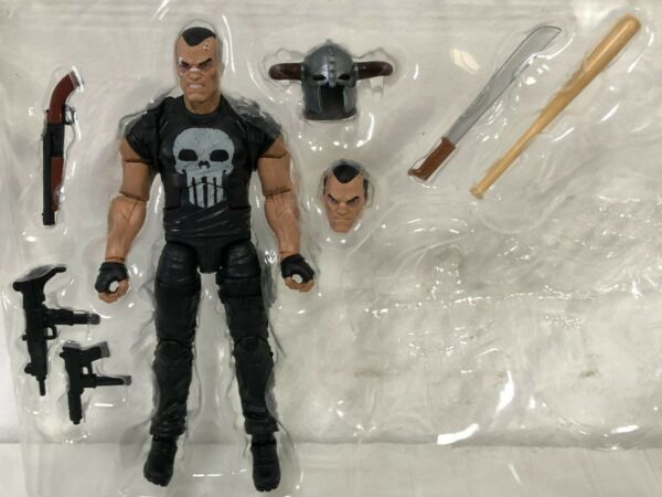 Marvel Legends PUNISHER ACTION FIGURE Legendary Riders Pack *NO MOTORCYCLE