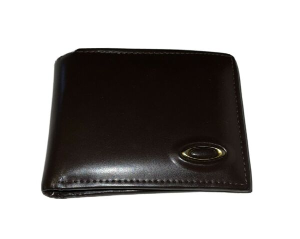 *RARE* OAKLEY LEATHER WALLET ORIGINAL W INSERTS FOR CARDS amp; CASH minimal use $300.00