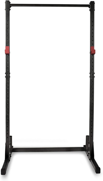 BRAND NEW CAP Barbell Power Rack Exercise Stand BLACK IN HAND $189.00