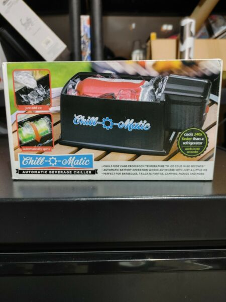 Chill O Matic Instant Beverage Cooler Black $29.99