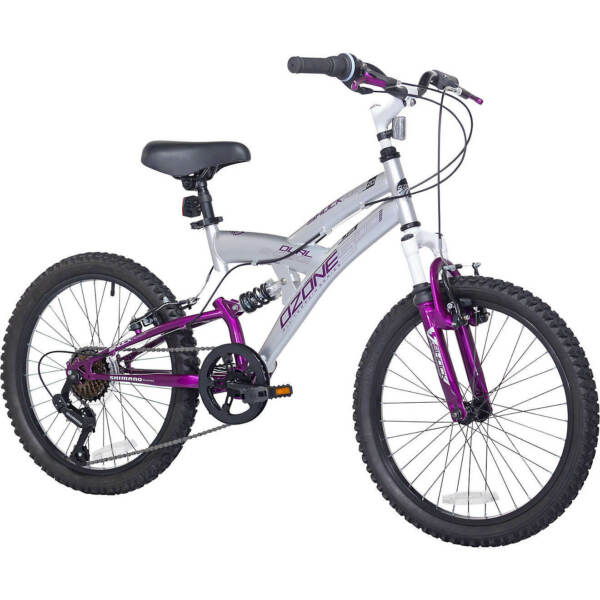 Mountain Bike for girls Bicycle 20 In 7 Speeds Dual Suspension steel frame ride $249.99