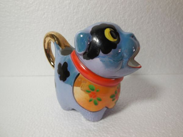 A VINTAGE GOOFY DOG SMALL PITCHER OR CREAMER MADE IN JAPAN $12.95