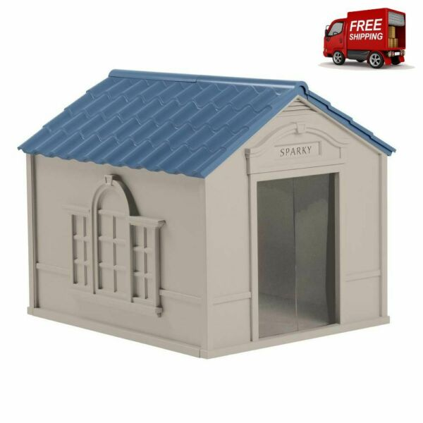Dog Kennel House Pet XXL XL Extra Large Dogs Outdoor Cabin Shelter Big Shelter $122.45