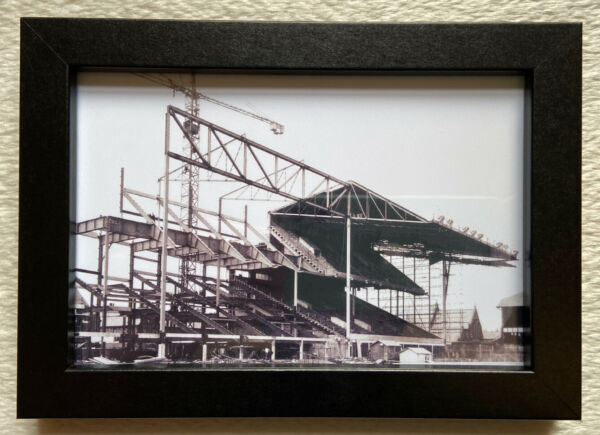 Everton fc goodison park stand construction picture framed birthday fan gift new GBP 13.95