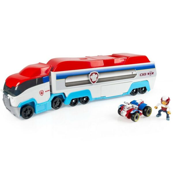 PAW PATROL PAW PATROLLER RESCUE AND TRASNPORT TRUCK RYDER VEHICLE *DM