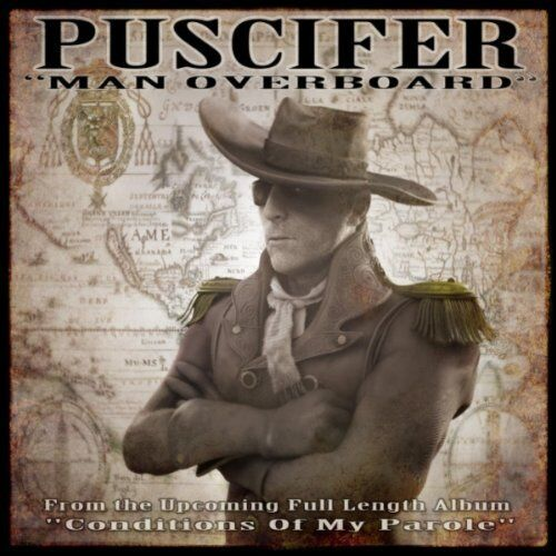 Puscifer Man Overboard CD Single Tool A Perfect Circle Conditions Of My Parole $21.47