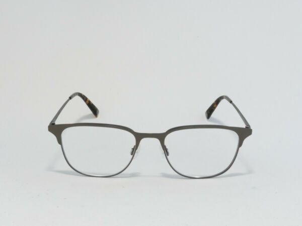 WARBY PARKER CAMPBELL STAINLESS STEEL EYEGLASS FRAMES CARBON 52 18 145 RX* NEW $74.99