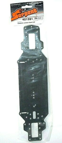 SERPENT CHASSIS CARBON HARD 2.0 SER401591 $50.00