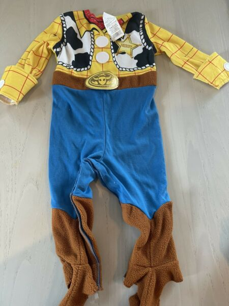 Toy Story Woody One Piece Costume 12 18 Month Disney Halloween Dress Up $5.99