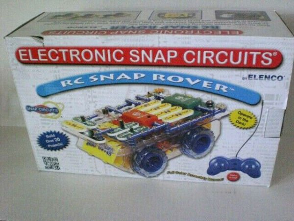 ELENCO Electronic Snap Circuits RC Snap Rover Brand New Sealed